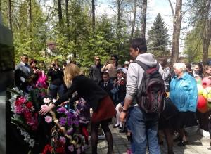 9 мая 2014 возложение венков